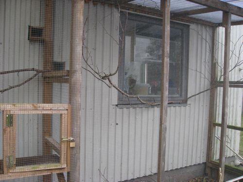 fuglehus i flere etager
